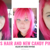 My Oops Hair and Pretty New Candy Pink